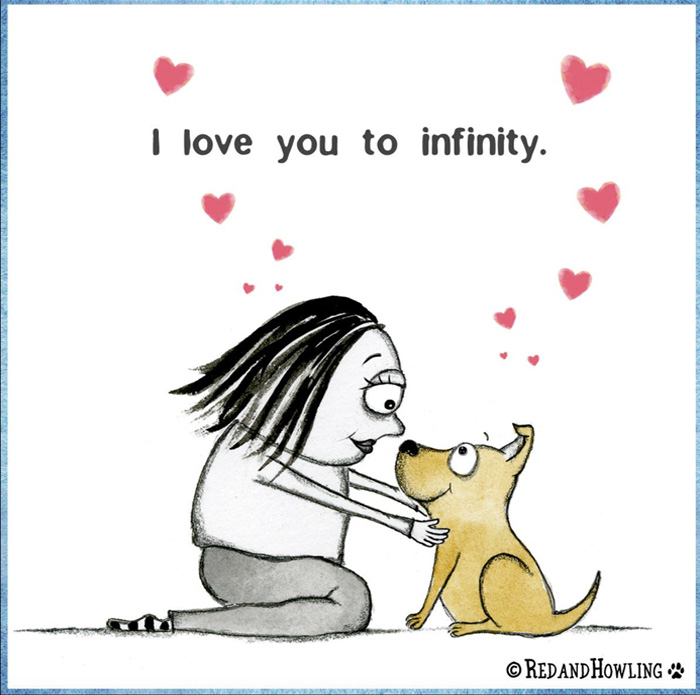 I love you to infinity
